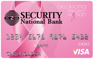 Oklahoma Project Women GiveBack Card